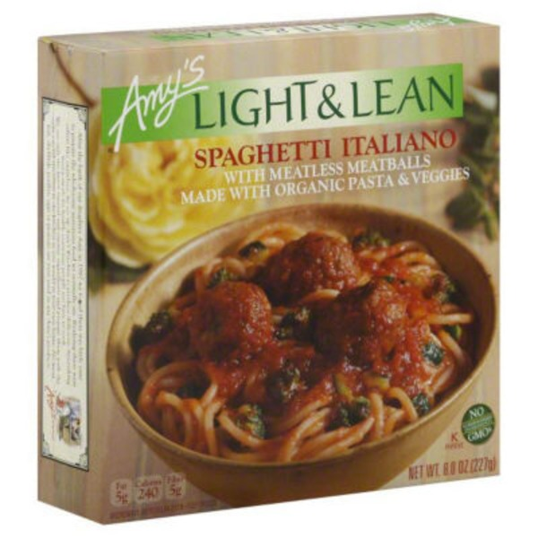 Amy's Light & Lean Spaghetti Italiano