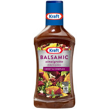 Kraft Balsamic Vinaigrette Sweet & Complex Dressing