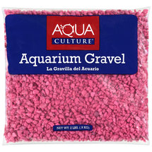 Aqua Culture Hot Pink Aquarium Gravel