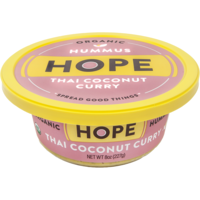 Hope Foods Organic Thai Coconut Curry Hummus