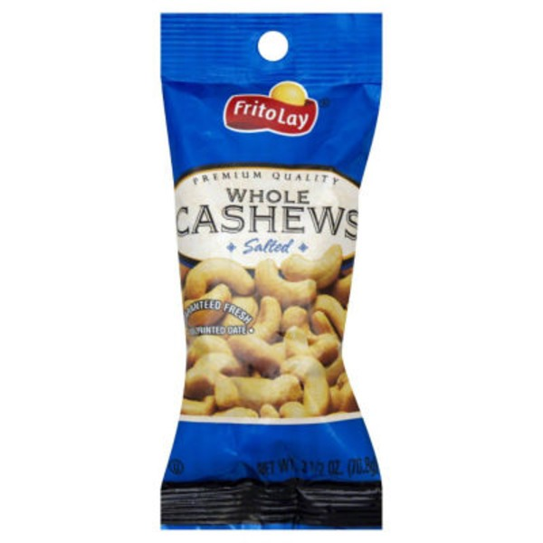 Frito Lays Whole Salted Cashews