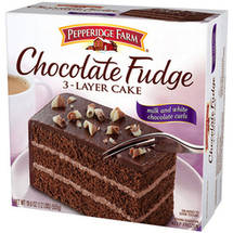 Pepperidge Farm 3-Layer Chocolate Fudge Cake