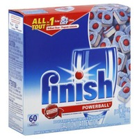 Finish All in 1 Super Charged Powerball Fresh Scent Automatic Dishwasher Detergent