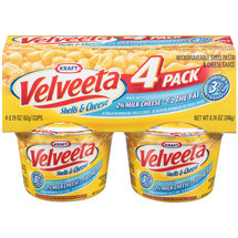 Kraft Dinners Velveeta Shells & Cheese Made With 2% Milk