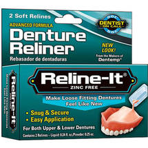 D.O.C. RelineIt Advanced Denture Reliner Kit