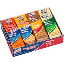Lance Variety Pack Sandwich Crackers