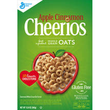 Cheerios Apple Cinnamon Cereal