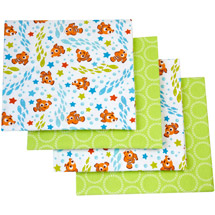 Disney Nemo Day at Sea Flannel Blanket