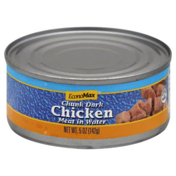 Economax Chunk Dark Chicken Meat In Water
