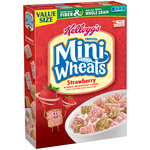 Kellogg's Frosted Mini-Wheats Strawberry Whole Grain Cereal