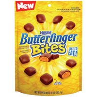 Nestle Butterfinger Crispety, Crunchety Peanut Buttery Candy Chocolate Candy Pieces