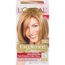 L'Oreal Excellence Creme Triple Protection Medium Blonde Natural 8 Hair Color