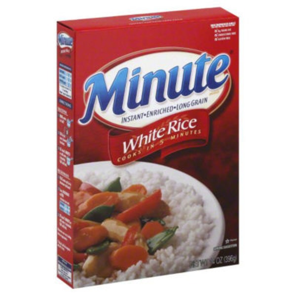 Minute Rice White Instant Enriched Long Grain Rice