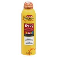 H-E-B Solutions Sunscreen Kids Lotion Spray Broad Spectrum Spf 50