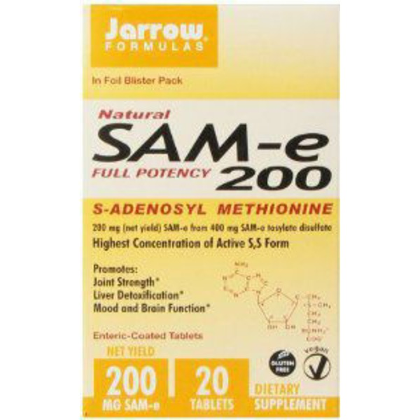 Jarrow Sam E 200 mg