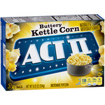 ACT II Buttery Kettle Corn Microwave Popcorn