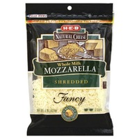 H-E-B Whole Milk Shredded Mozzarella Cheese