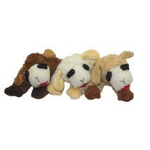 Multipet Small Plush Lamb Chop Dog Toy