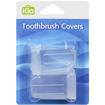 iGo Clear Toothbrush Covers