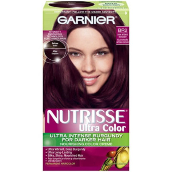 Nutrisse® Ultra Color Nourishing Color Creme BR2 Dark Intense Burgundy Haircolor