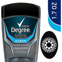 Degree Men Clinical   Clean Antiperspirant & Deodorant