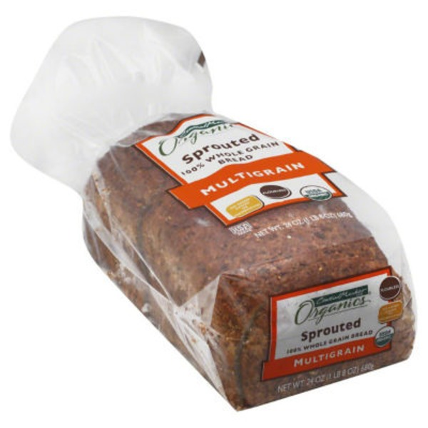Central Market Sprouted Multigrain Bread