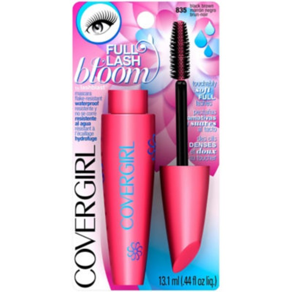CoverGirl Full Lash Bloom COVERGIRL Full Lash Bloom by Lashblast Waterproof Mascara Black Brown .44 fl oz (13.1 ml) Female Cosmetics