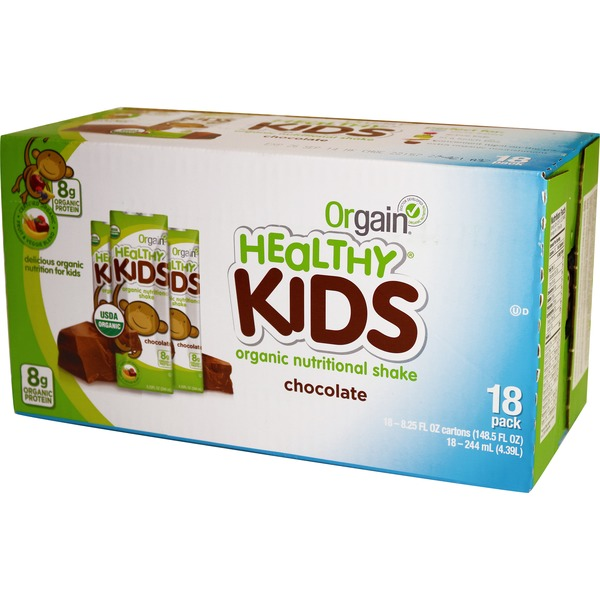 Orgain Healthy Kids Chocolate Shake