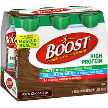Boost High Protein Nutritional Chocolate Energy Drink 6 Ct/48 Fl Oz