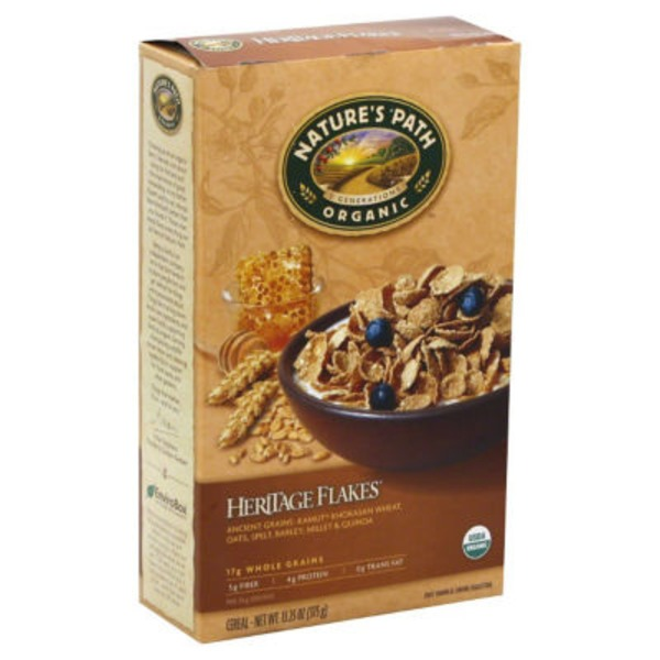 Nature's Path Organic Heritage Heirloom Whole Grains Cereal