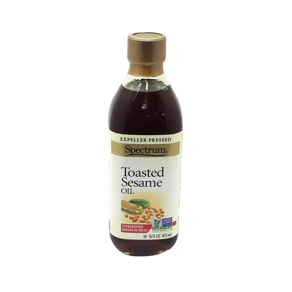 Spectrum Toasted Unrefined Sesame Oil