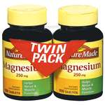 Nature Made Magnesium Twin Pack