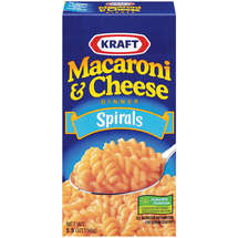 Kraft Dinners Spirals Macaroni & Cheese Dinner