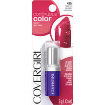 CoverGirl Continuous Color Lipstick 580 Classic Red