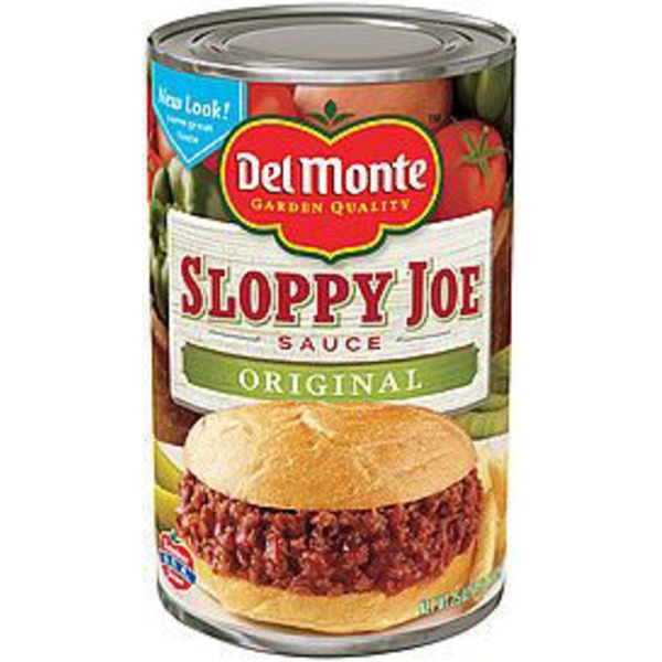 Del Monte Original Sloppy Joe Sauce