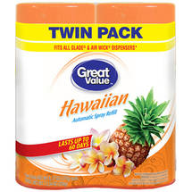 Great Value Hawaiian Automatic Spray Air Freshener Refill