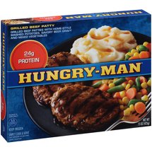 Hungry-Man Pub Favorites Chopped Beef Steak