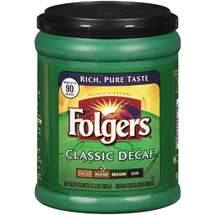 Folgers Classic Decaf Medium Roast Ground Coffee