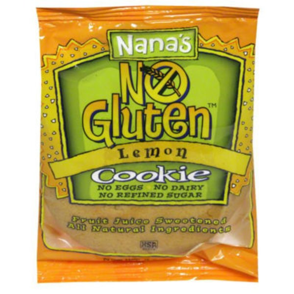 Nana's NO Gluten Lemon Cookie Gluten-Free