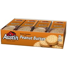 Austin Toasty Crackers with Peanut Butter Cracker Sandwiches
