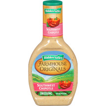 Hidden Valley Farmhouse Originals Dressing Southwest Chipotle 16 Fluid Ounce Bottle