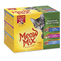 Meow Mix Market Select Wet Cat Food Variety Pack