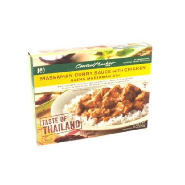 Central Market Massaman Curry Sauce With Chicken