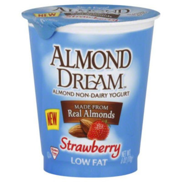 Almond Dream Low Fat Non-Dairy Yogurt Strawberry