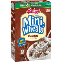 Frosted Mini-Wheats Little Bites Chocolate Cereal