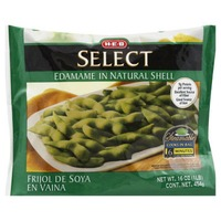 H-E-B Select Edamame In Natural Shell