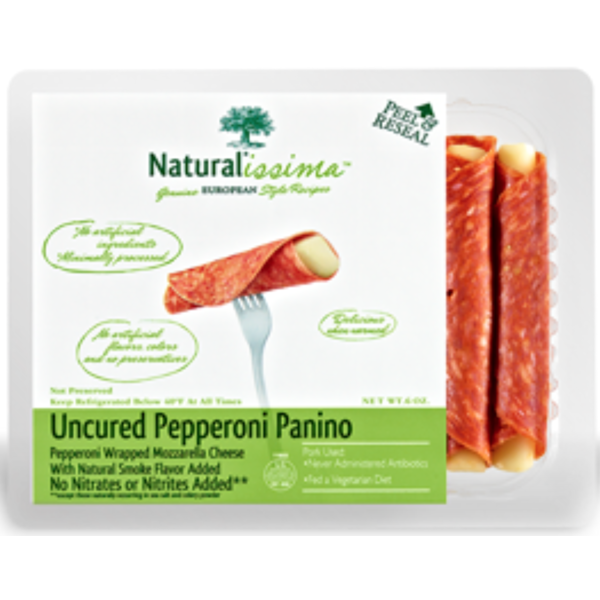 Naturalissima Uncured Pepperoni Panino