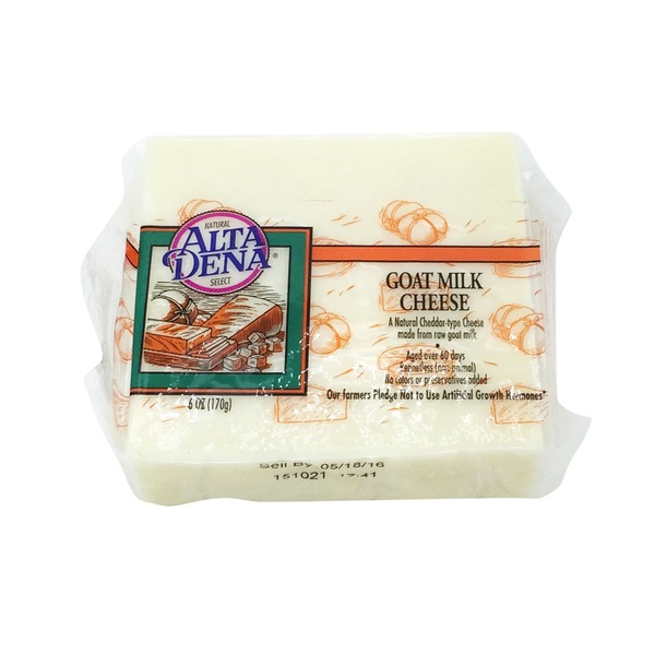 Alta Dena Goat Milk Cheese