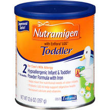 Enfamil Nutramigen 2 With Enflora LGG - Hypoallergenic Infant Formula with Iron - Powder -12.6 oz Can