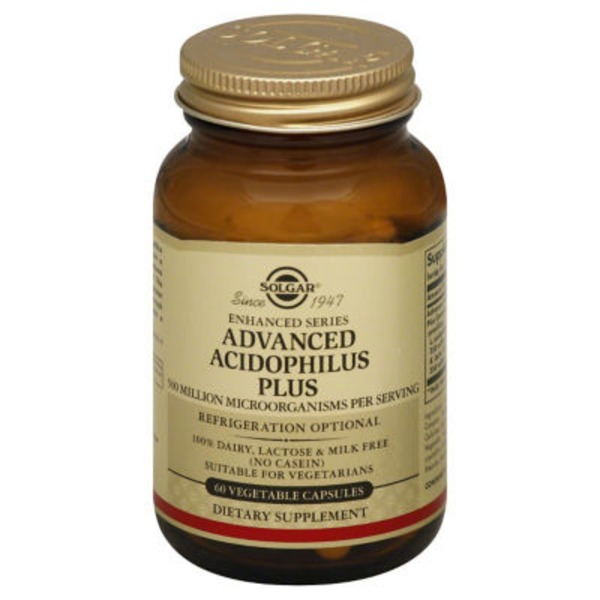 Solgar Acidophilus Plus, Advanced, Vegetable Capsules